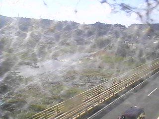 吉野川のライブカメラの様子